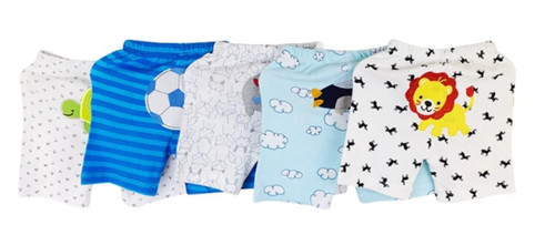 Carters 5 Pack Assorted Cotton Baby Boy Shorts