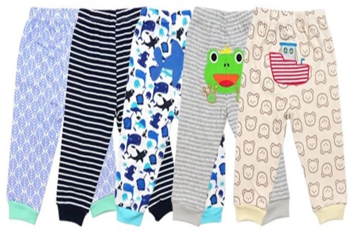 Carters 5 Pack Assorted Cotton Baby Boy Pants