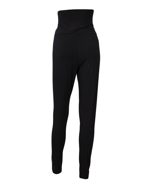 Black Maternity /  Pregnancy Leggings/ tights  - Over Bump