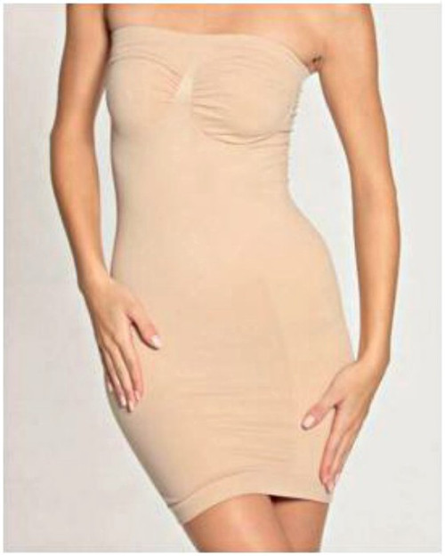 Beige Women's Strapless Shaping Slips