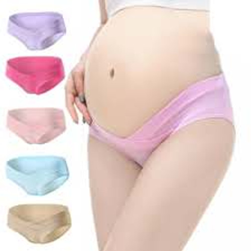 Maternity Panty with Seamless/ No Show Under Belly