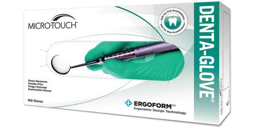 Micro-Touch Denta-Glove Green Neoprene