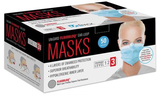 FLUIDBLOQ Mask Earloop Level 3