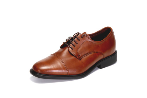Neil M Men's Senator Cap-Toe Oxford (Saddle Tan)
