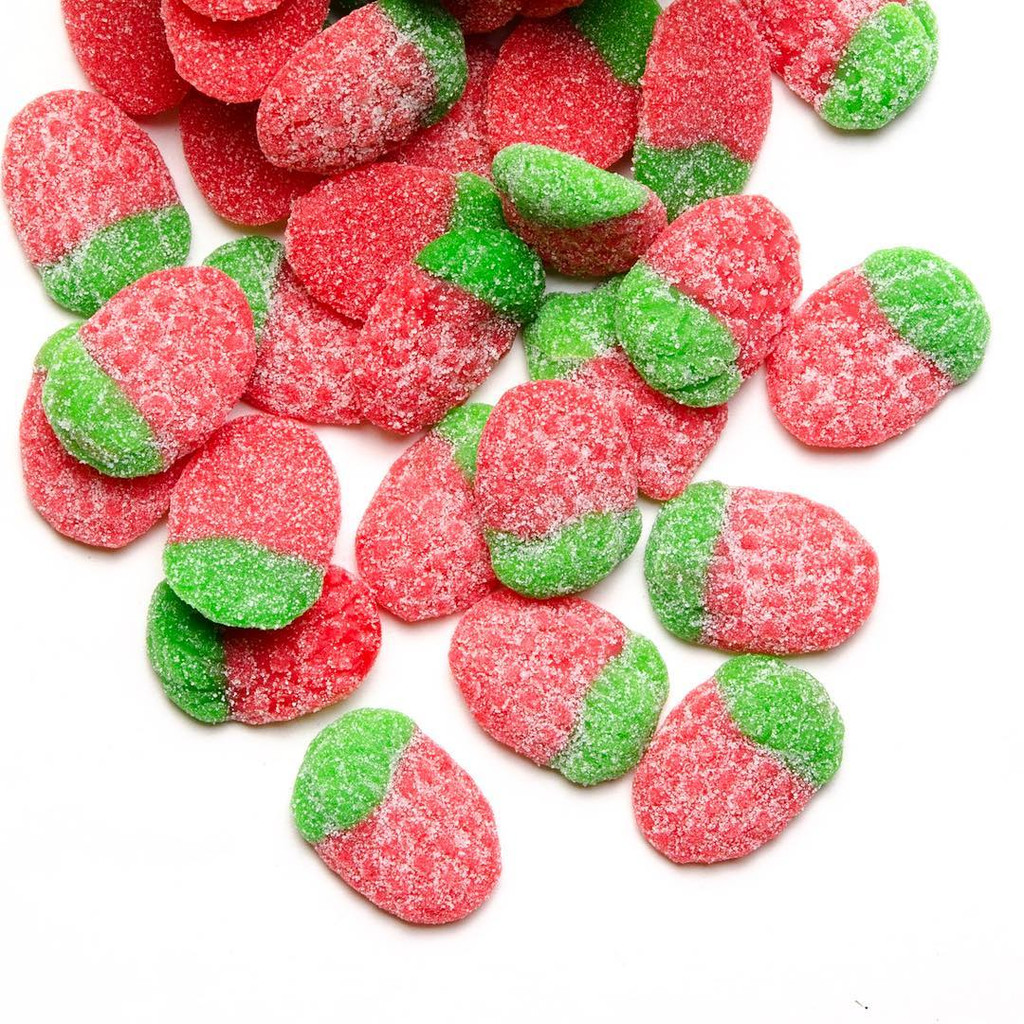 Sour Strawberries candy texture