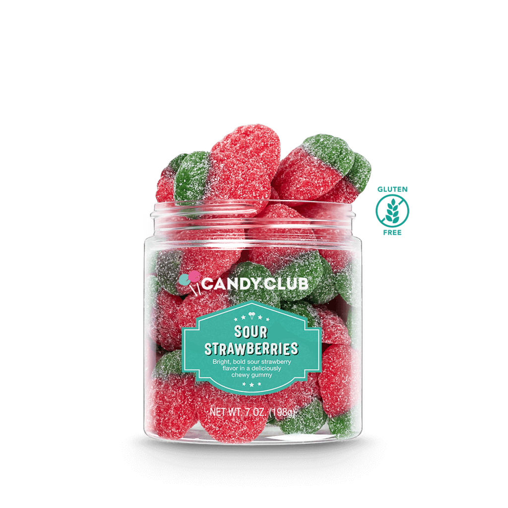 Candy Club - Sour Strawberries