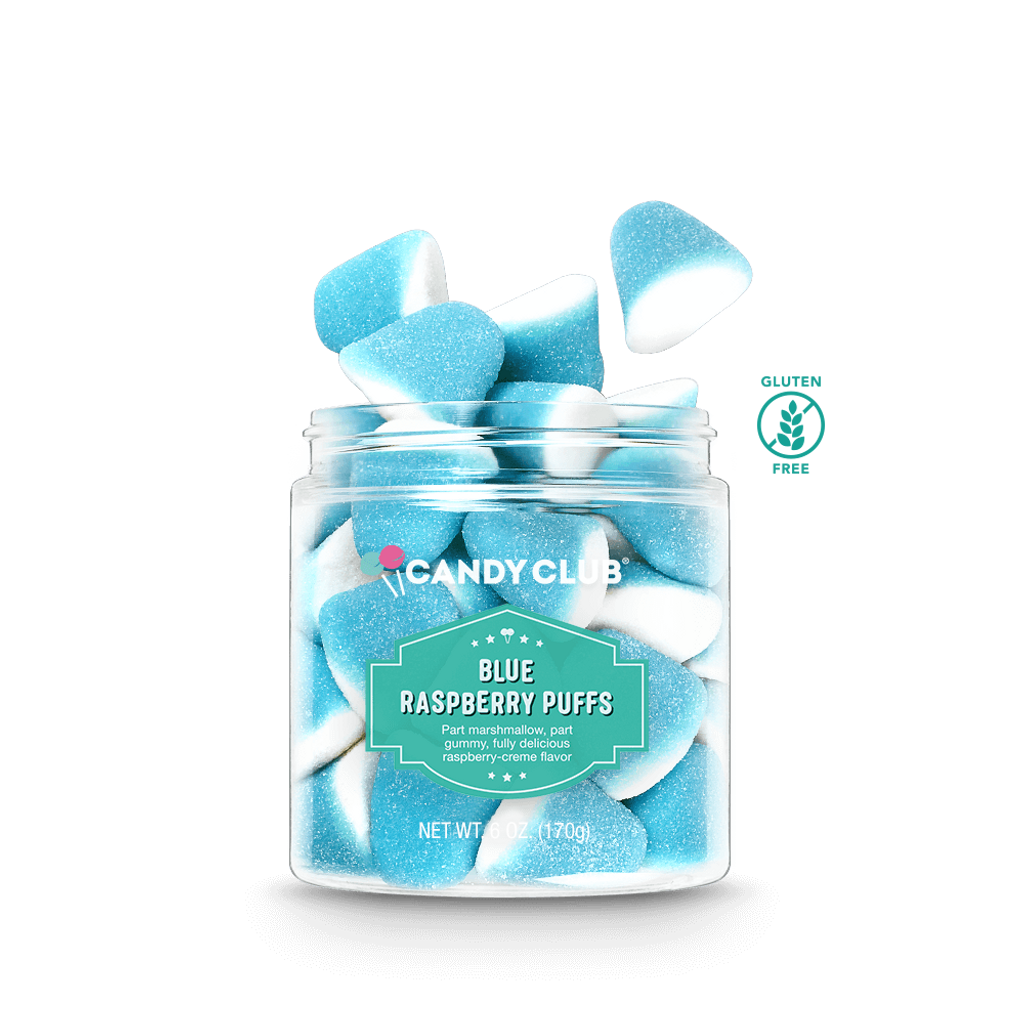Candy Club - Blue Raspberry Puffs