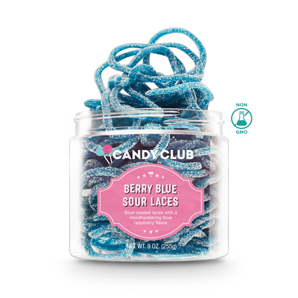 Candy Club - Berry Blue Sour Laces