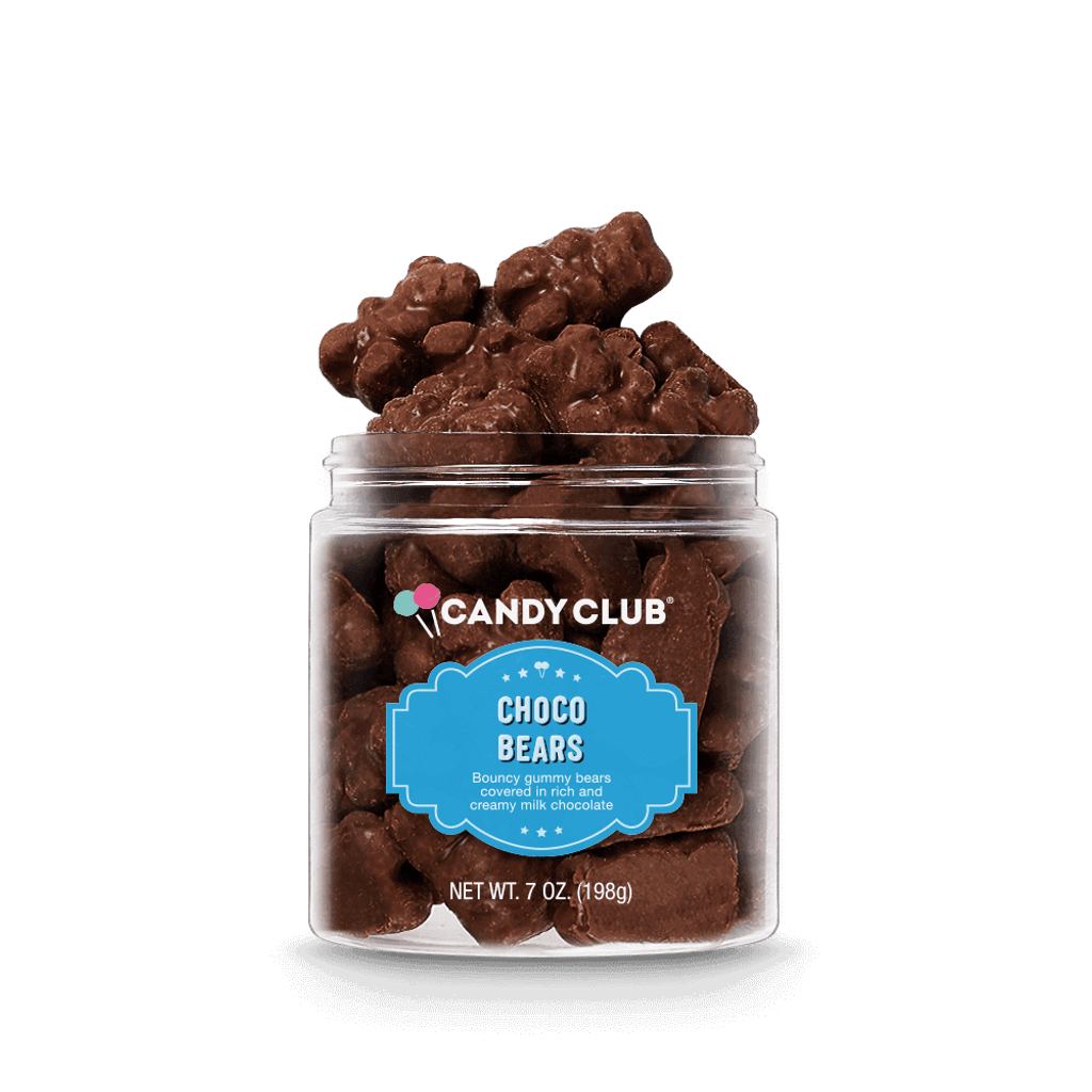 A cup of Choco Bears candy