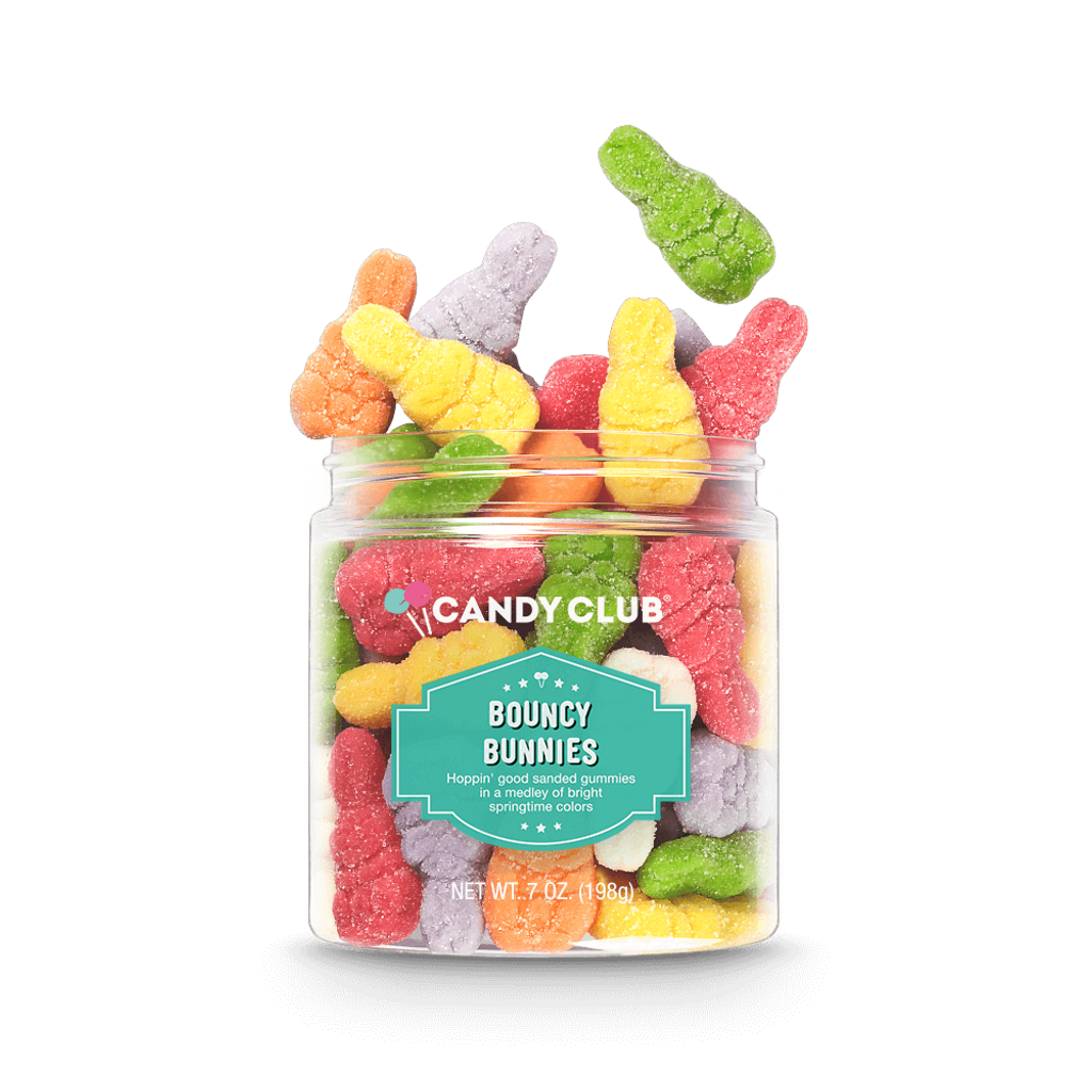 A cup of Bouncy Bunnies candy