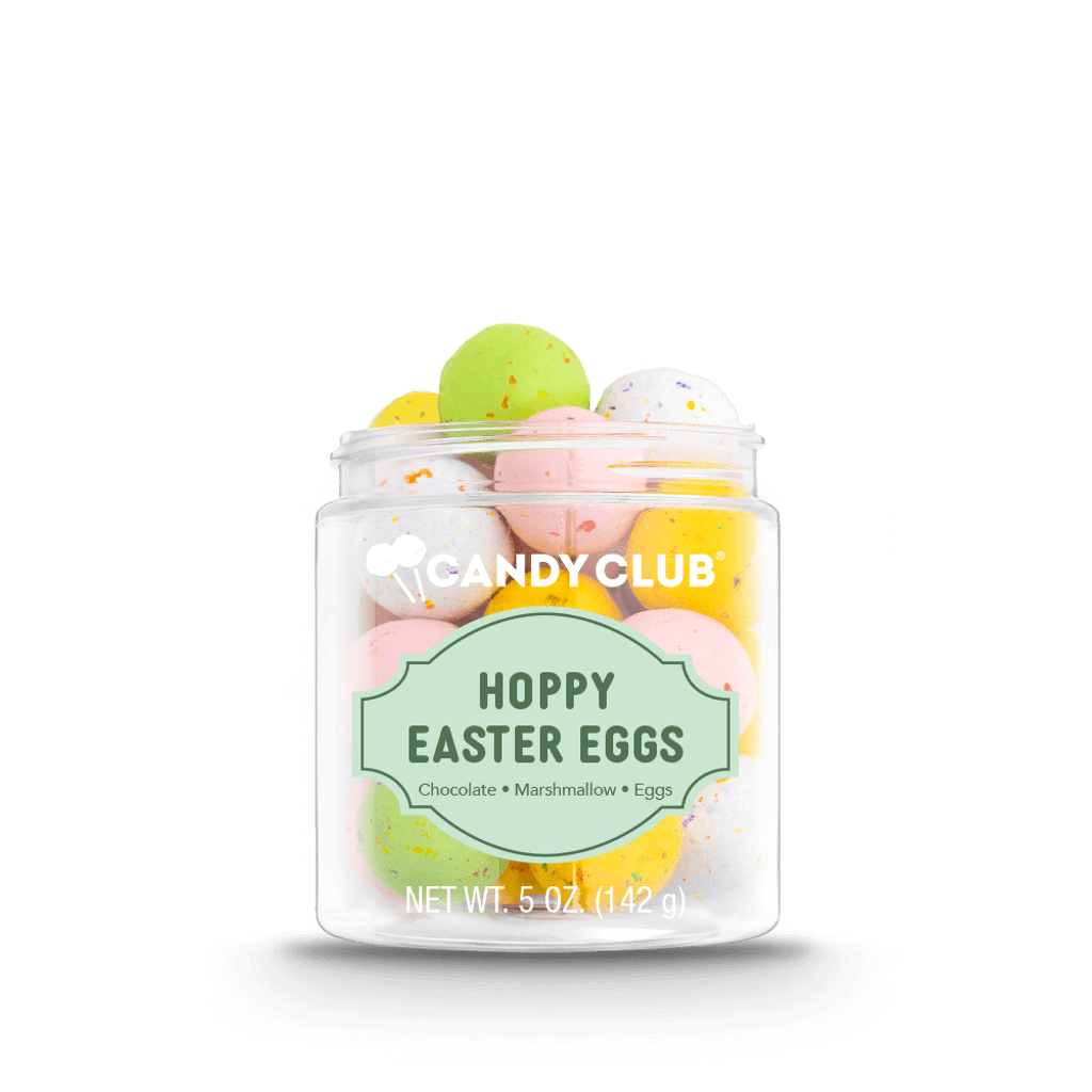 A cup of Hoppy Easter Eggs candy