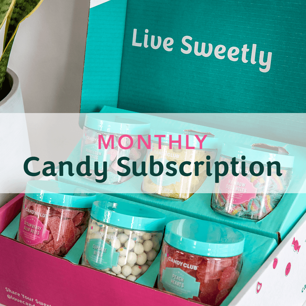 Party Pack subscription box. Each cup is 13oz, by volume.
