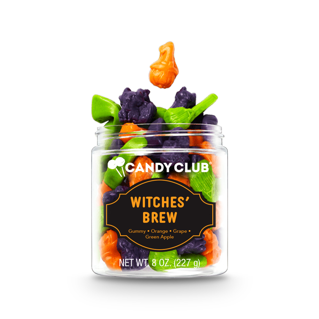 A cup of Witches' Brew candy