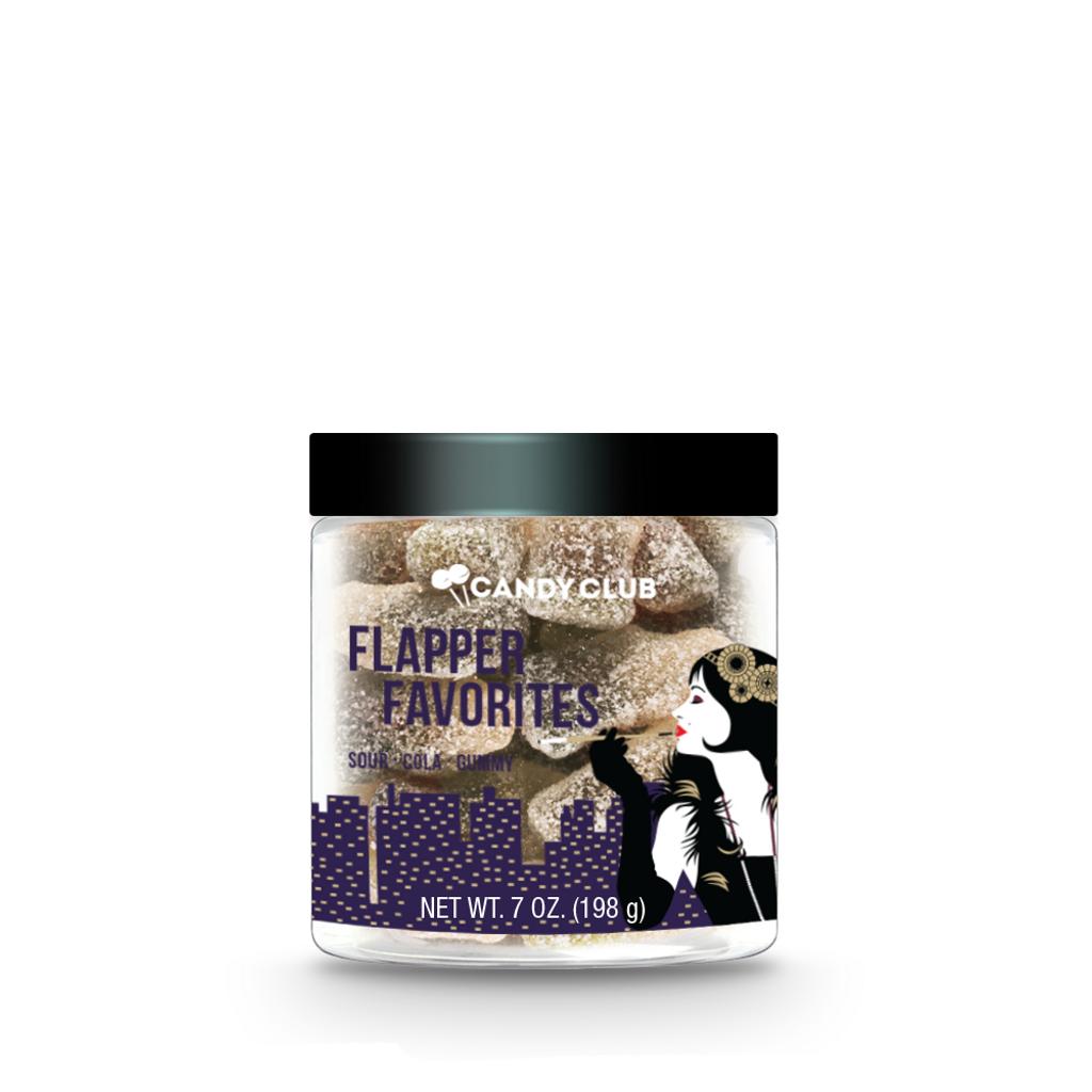 Flapper Favorites with a black lid