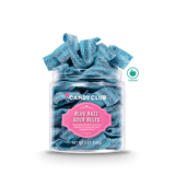 Blue Razz Sour Belts - Candy Club