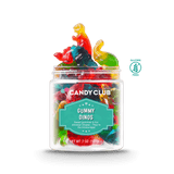 A cup of Gummy Dinos candy