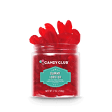 A cup of Gummy Lobster candy