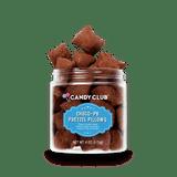 A cup of Choco-PB Pretzel Pillows candy