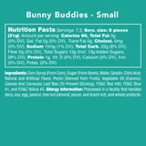 Bunny Buddies nutrition facts