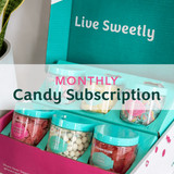 Mostly Sours Candy Club subscription box.
