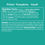 Pickin' Pumpkins - Nutritional Information