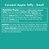 Caramel Apple Taffy - Nutrition Information