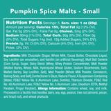Pumpkin Spice Malts - Nutritional Information