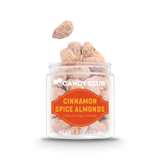 A cup of Cinnamon Spice Almonds candy