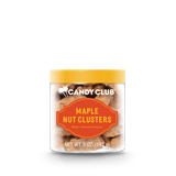 Maple Nut Clusters with orange lid