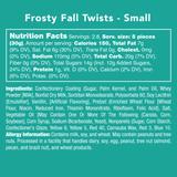 Frosty Fall Twists - Nutritional Information