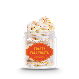 A cup of Frosty Fall Twists candy