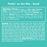 Puttin' on the Ritz - Nutritional Information