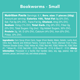 Bookworms — Nutritional Information