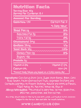 Gummi Bears - Nutritional Information