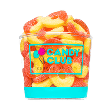 Gummi Peach Rings - Candy Club