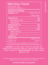 Neapolitan Taffy - Nutritional Information