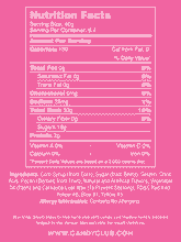 Mini Gummi Butterflies - Nutritional Information