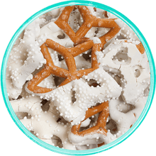 Snowflake Pretzels - Detailed View