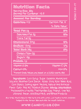 Holiday Bells - Nutritional Information