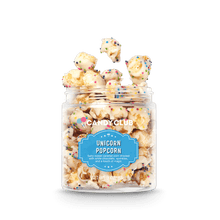 A cup of Unicorn Popcorn candy
