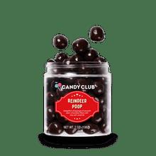 A cup of Reindeer Poop candy