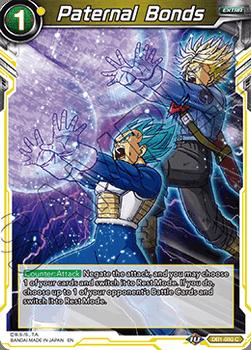 DB1-080C Paternal Bonds Dragon Brawl Stamp