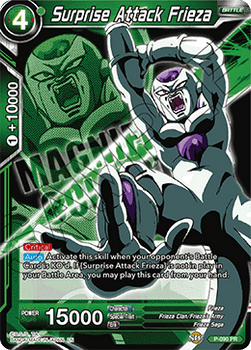 P-090 Surprise Attack Frieza Magnificent Collection