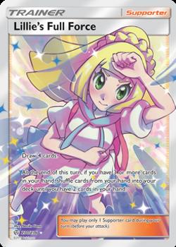 SM12-230/236UR Lillie's Full Force (Full Art)
