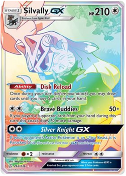 SM12-262/236SR Silvally GX (Secret)