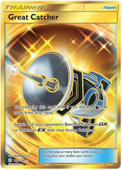 SM12-264/236SR Great Catcher (Secret)