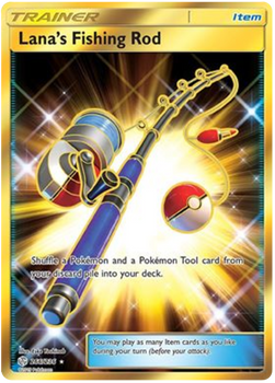 SM12-266/236SR Lana's Fishing Rod (Secret)