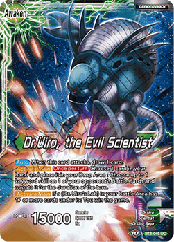 BT08-045UC Dr.Uiro & Dr.Kochin // Dr.Uiro, the Evil Scientist Foil