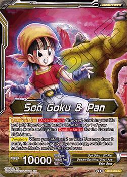 BT08-066C Son Goku & Pan // SS4 Son Goku, Senses Regained Foil