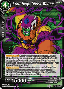 BT08-096UC Lord Slug, Ghost Warrior Foil